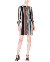 Missoni Brown Short Dress