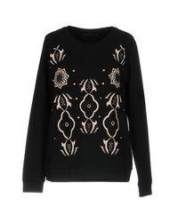 Silvian Heach Black Sweatshirt