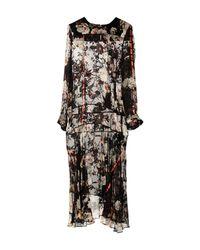 Preen By Thornton Bregazzi Black Long Dress