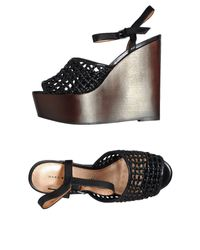 Marc By Marc Jacobs Black Wedge
