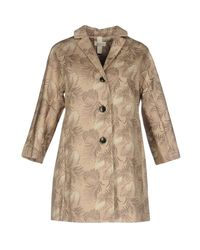 AT.P.CO Natural Overcoat
