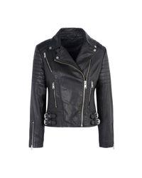 AllSaints - Black Jacket - Lyst