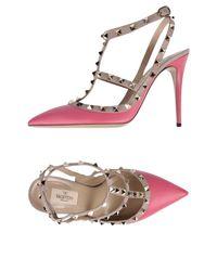 Valentino - Pink Court - Lyst