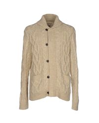 Cardigan di Denim & Supply Ralph Lauren in Natural da Uomo