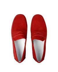 Armani Jeans Red Loafer for men