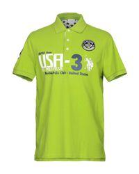 U.S. POLO ASSN. Poloshirt in Green für Herren