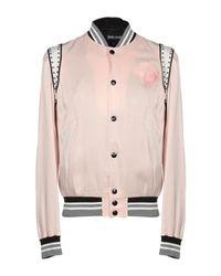 Blouson Just Cavalli pour homme en coloris Pink