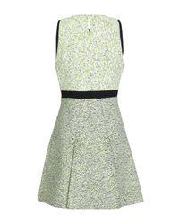 Proenza Schouler Green Short Dress