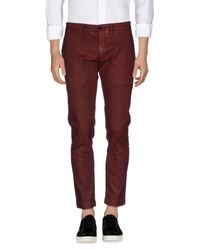 Pantalon en jean Department 5 pour homme en coloris Red