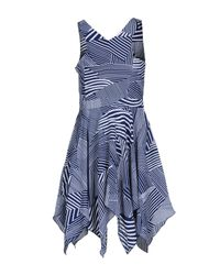 Lavand Blue Short Dresses