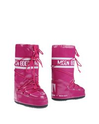 Moon Boot Pink Boots