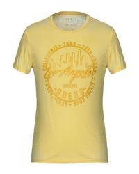 Camiseta Guess de hombre de color Yellow