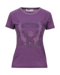 T-shirt Golden Goose Deluxe Brand en coloris Purple