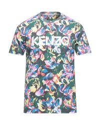 KENZO Gray T-shirt for men