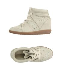 Étoile Isabel Marant Gray High-tops & Sneakers