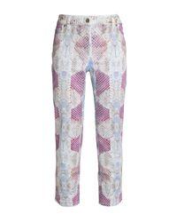 Pantalon Roberto Cavalli en coloris Multicolor