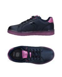 Geox Blue Low-tops & Sneakers