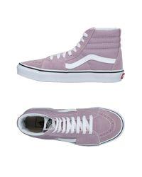 Vans Purple High-tops & Sneakers
