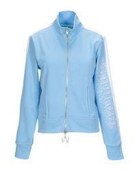 Off-White c/o Virgil Abloh Blue Sweatshirt