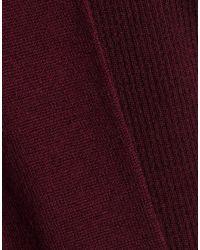 Chalayan Purple Sweater