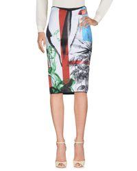 Clover Canyon Blue 3/4 Length Skirt