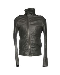 Rick Owens Gray Jacket for men