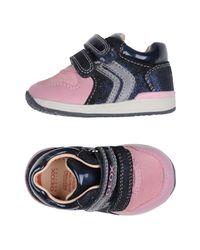 Geox Pink Low-tops & Sneakers