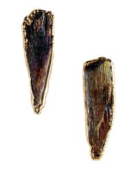 Dara Ettinger - Metallic Earrings - Lyst