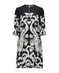 Robe courte Valentino en coloris Black
