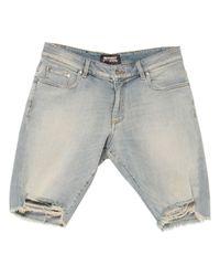Bermuda jeans di Represent in Blue da Uomo