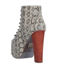 Jeffrey Campbell Natural Stiefelette