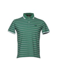 Fred Perry Green Polo Shirt for men