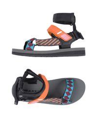 Prada Orange Sandals