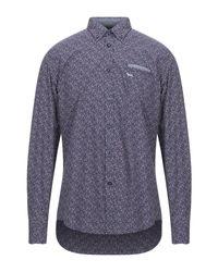Harmont & Blaine Blue Shirt for men