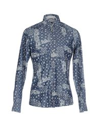 AT.P.CO Blue Shirt for men