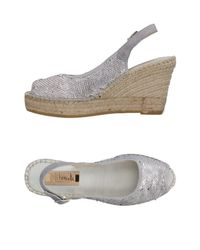 Vidorreta Gray Sandals