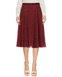 I'm Isola Marras Red 3/4 Length Skirts