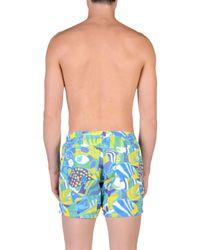Drumohr - Green Swimming Trunks for Men - Lyst