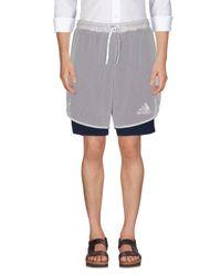 Adidas Originals Gray Bermuda for men