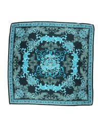Versace Green Square Scarf