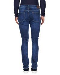 Hackett Blue Denim Pants for men