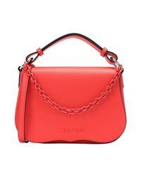 Calvin Klein Red Handtaschen
