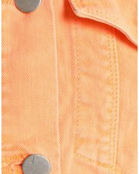 Chaqueta vaquera J Brand de color Orange