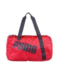PUMA - Purple Travel & Duffel Bag - Lyst
