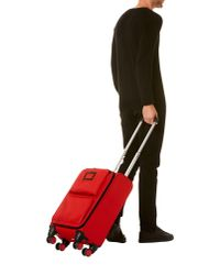 Lancel - Red Wheeled Luggage for Men - Lyst
