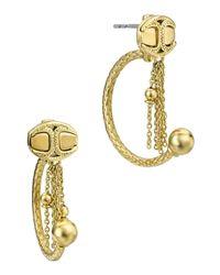 Just Cavalli - Metallic Earrings - Lyst