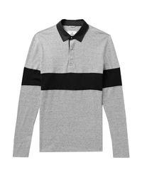 Reigning Champ Poloshirt in Gray für Herren