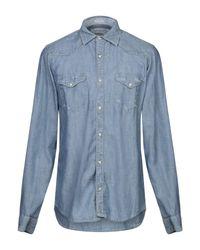 Camicia jeans di Roy Rogers in Blue da Uomo