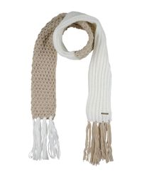 Guess - White Oblong Scarf - Lyst