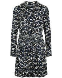 Tory Burch Blue Short Dresses